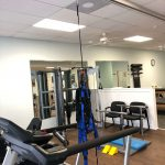 Physical Therapy Equipments-Backside View
